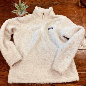 Patagonia White Women's Pullover Jacket Size Med